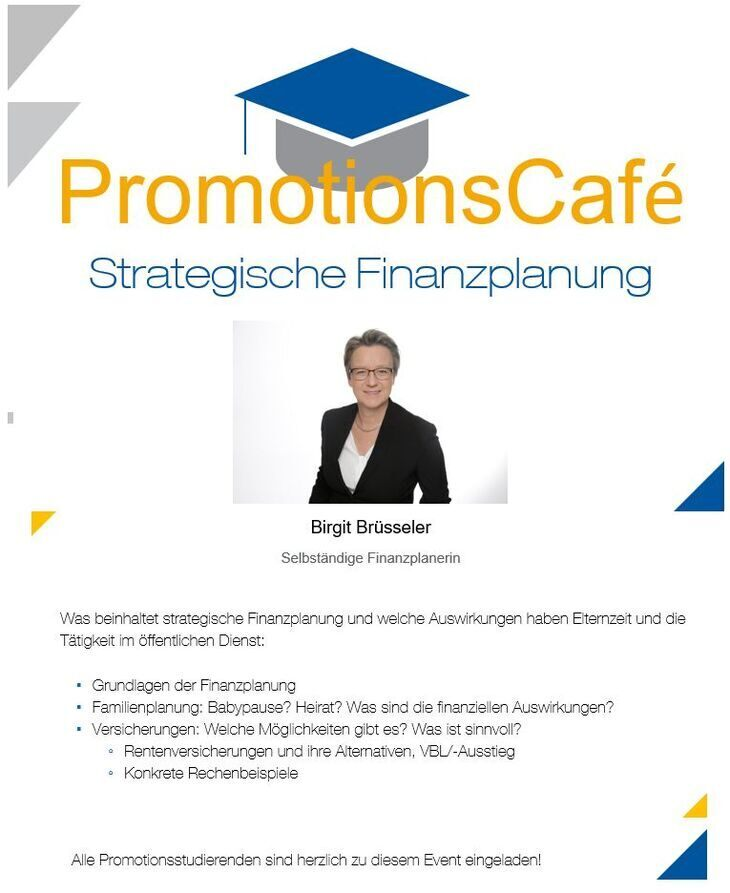 PromotionsCafé welcome