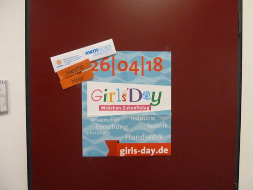 UnRAVeL Girls Day welcome